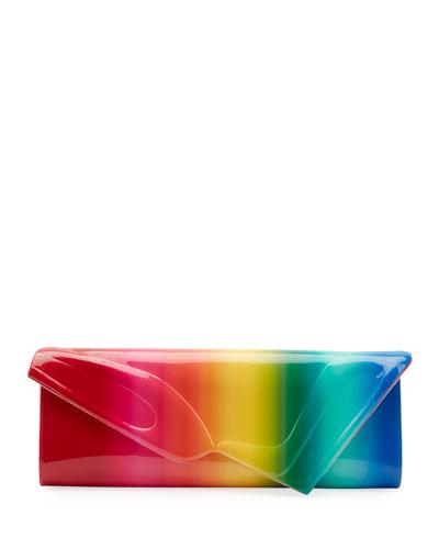 So Kate Rainbow Baguette Clutch Bag