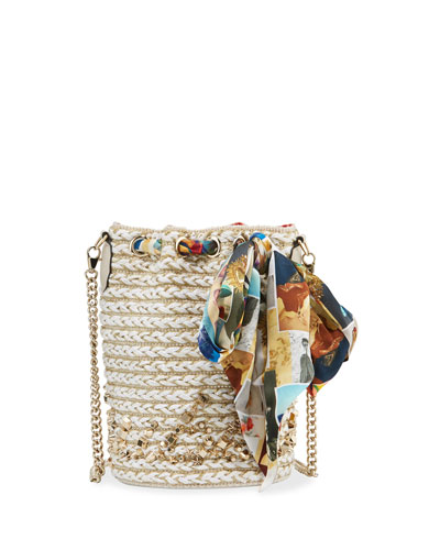Marie Jane Crepe Bucket Bag