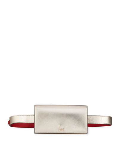 Boudouir Chain Napa Belt Bag with Shoulder Strap