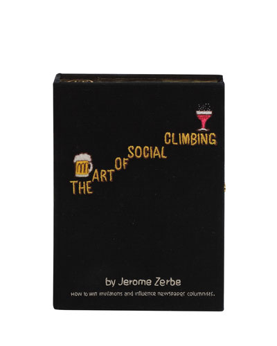 The Art Of Social Climbing Box Clutch Bag
