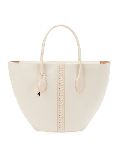 Latifa Small Canvas Tote Bag