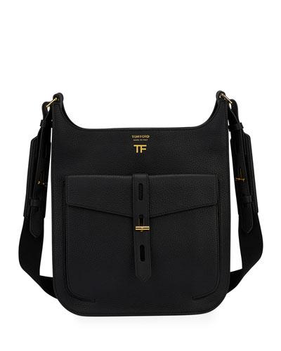 Rialto Medium Grain Leather Crossbody Bag