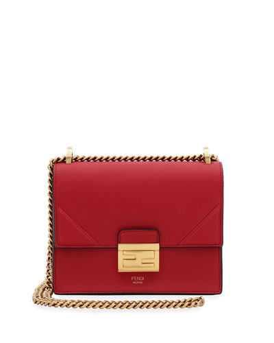 Kan Small Matte Grace Leather Crossbody Bag