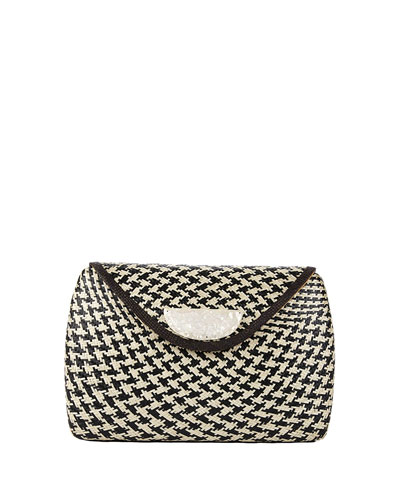 Monacco Abaca Clutch Bag