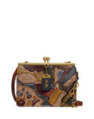 Coach 1941 Coated Canvas Signature Starscape Patchwork Double