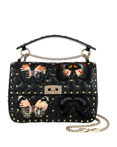 Spike.It Medium Butterfly Shoulder Bag