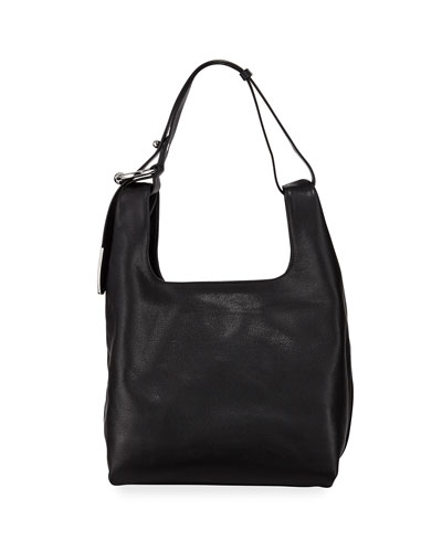 Karlie Medium Leather Hobo Bag