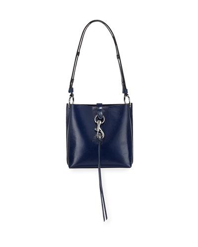 8c36128c210f Quick Look. Rebecca Minkoff · Megan Small Leather Feed Bag ...
