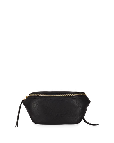 Bree Leather Belt Bag - Golden Hardware