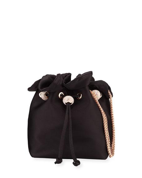 Sophia Webster Emmie Satin Drawstring Shoulder Bag