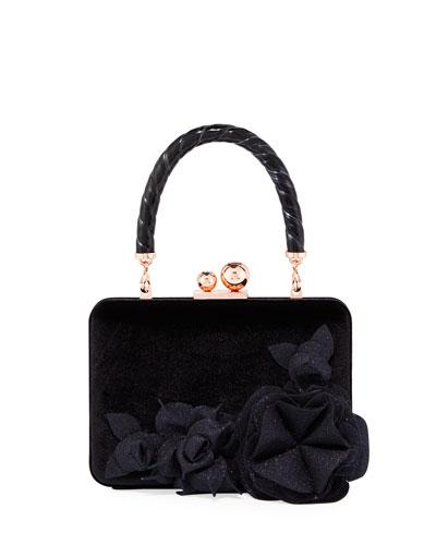 Vivi Jumbo Lilico Box Top Handle Bag