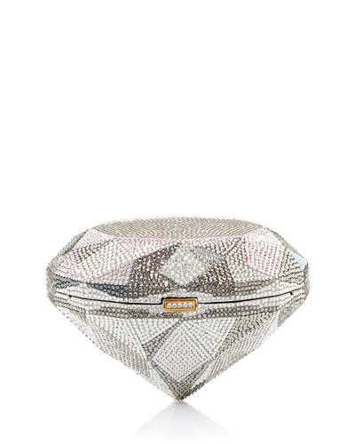 Diamond Flawless Crystal Clutch Bag