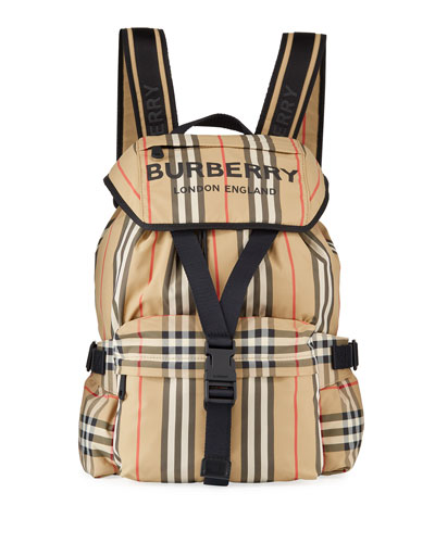 Wilfin Small Heritage Stripe Backpack
