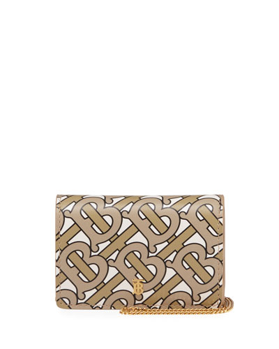 Jessie Chain Monogram Wallet