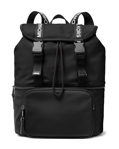 The Michael Large Flap Backpack