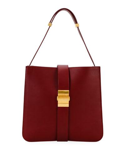 Marie Napa Leather Shoulder Bag