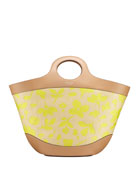 kate spade new york summerton large woven straw