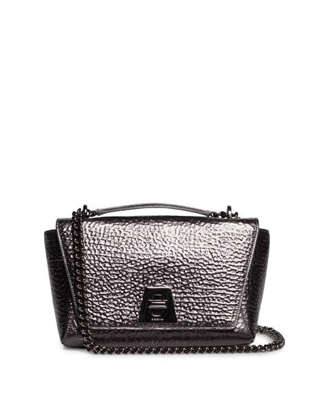 Akris Anouk Small Day Leather Crossbody Bag