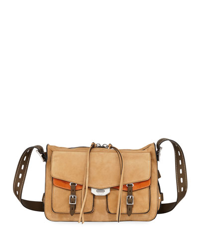 Field Messenger Leather Satchel Bag
