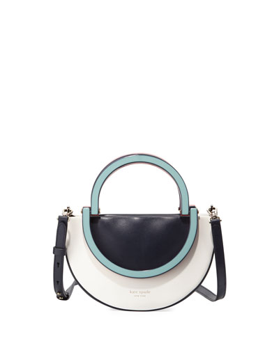 betty small half moon top-handle bag
