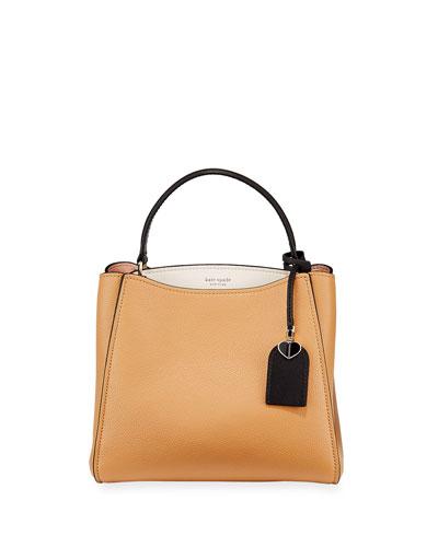 small colorblock satchel bag