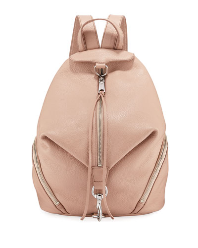 Julian Pebbled Leather Backpack