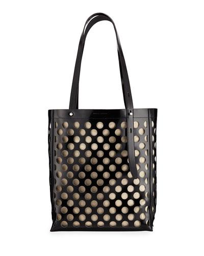 Stella Perforated Medium Tote Bag