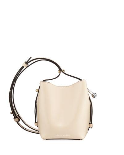 Kate Mini Smooth Leather Bucket Bag