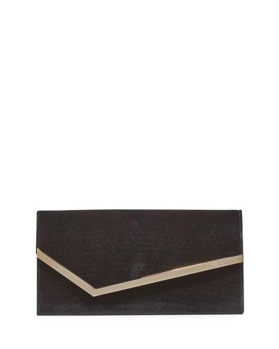Erica Lizard Velvet Clutch Bag