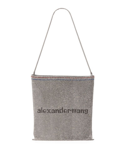 Wanglock Chain-Mail Pouch Bag