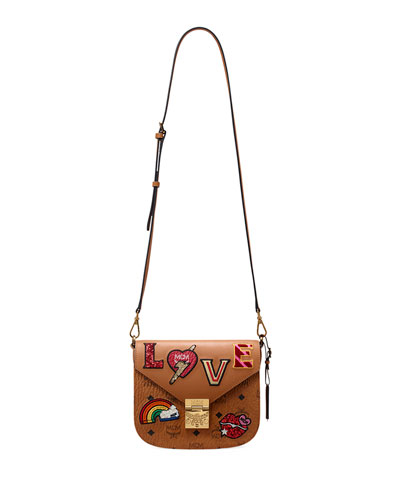 Patricia Small Love Patch Shoulder Bag