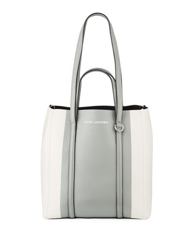The Textured Colorblock Tote Bag