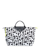 Longchamp Le Pliage XL Logo-Print Travel Tote Bag
