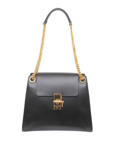 Annie Medium Smooth Shoulder Bag