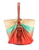 Chloe Panier Silk Shoulder Bag