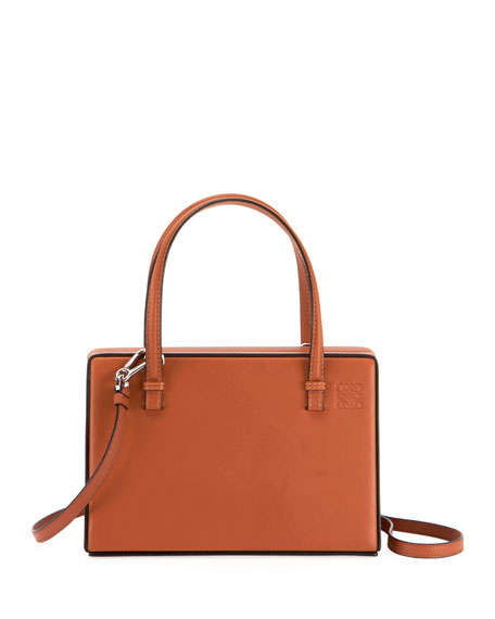 Loewe Postal Natural Calf Box Bag