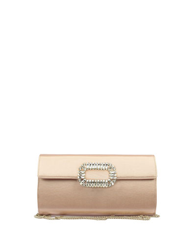 Envelope Flap Sexy Clutch Bag, Nude