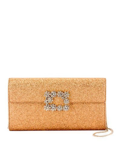 Envelope Flap Sexy Clutch Bag, Bronze