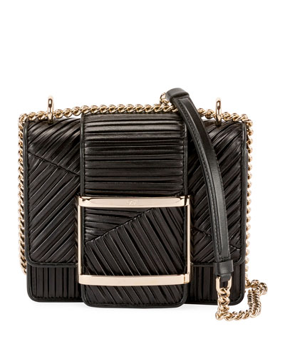 Res Duo Plisse Mini  Clutch Bag