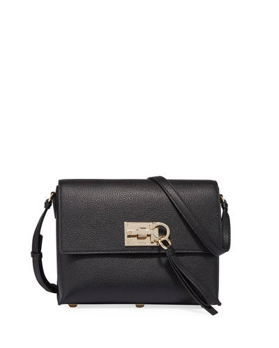 The Studio Small Crossbody Bag, Black