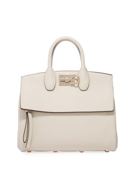 Salvatore Ferragamo The Studio Small Top-Handle Bag
