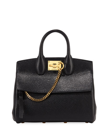 Salvatore Ferragamo The Studio Rock Small Top Handle Bag