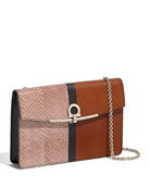Salvatore Ferragamo Gancio Clip Mini Shoulder Bag
