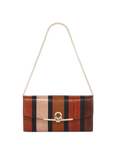 Gancio Clip Wallet On a Chain/Mini Bag