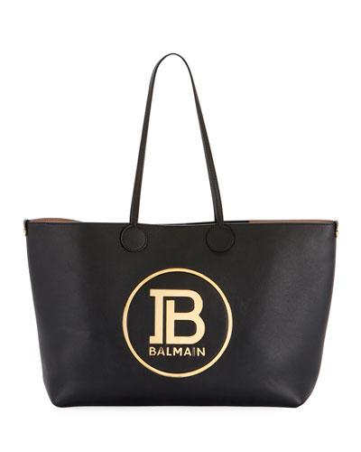 Smooth Medium Shopping Tote Bag
