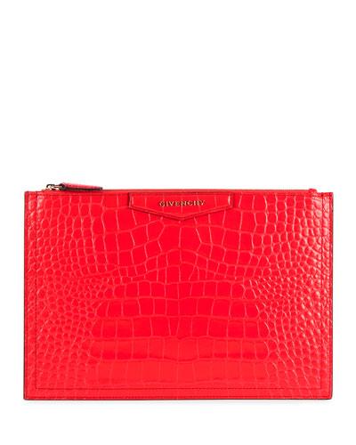 Antigona Medium Pouch Clutch Bag