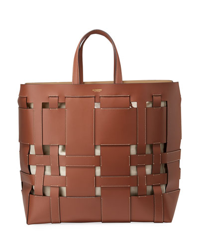 Foster Large Woven Tote Bag