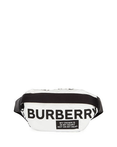 Medium Logo Print Belt Bag