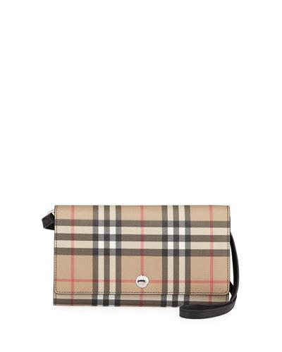 Hannah Vintage Check Crossbody Bag