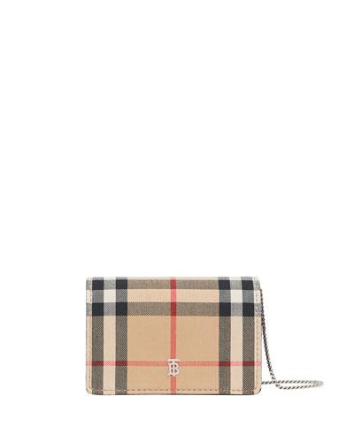 Jessie Vintage Check Crossbody Bag